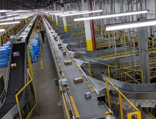 Amazon's New Fulfillment Center is as Large as 18 Football Fields